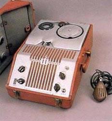 Magnetófono de hilo.