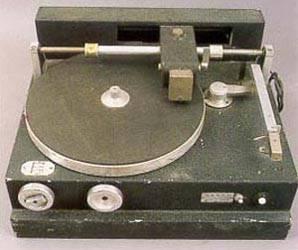 Grabadora de discos de acetato.