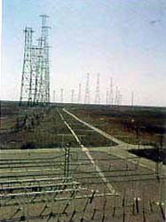 Conjunto de antenas construidas por cortinas de dipolos o