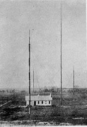 Centro emisor en Parets del Vallés (Barcelona), 1911.