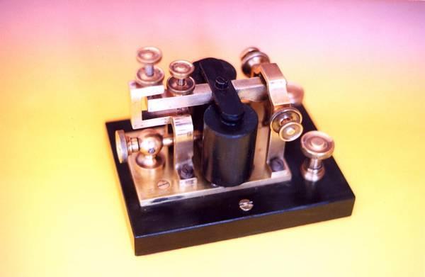 Receptor acústico del sistema Morse.