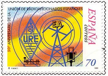 50 Aniversario de la Unión de Radioaficionados Españoles (URE)