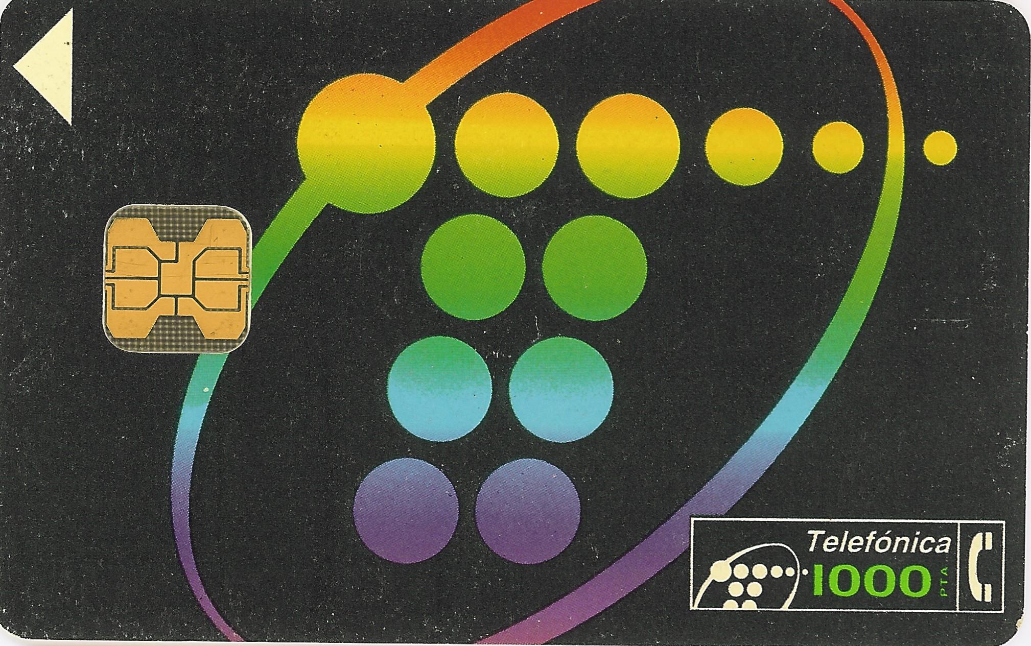 Tarjeta Telefónica. 1.000 Pts.