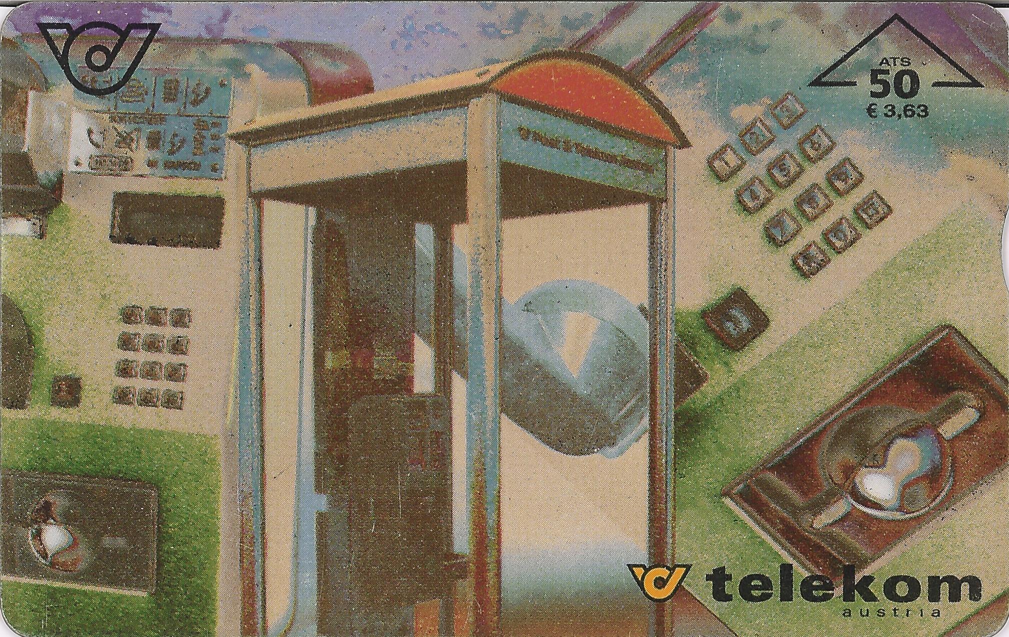 Tarjeta Telekom Austria 50