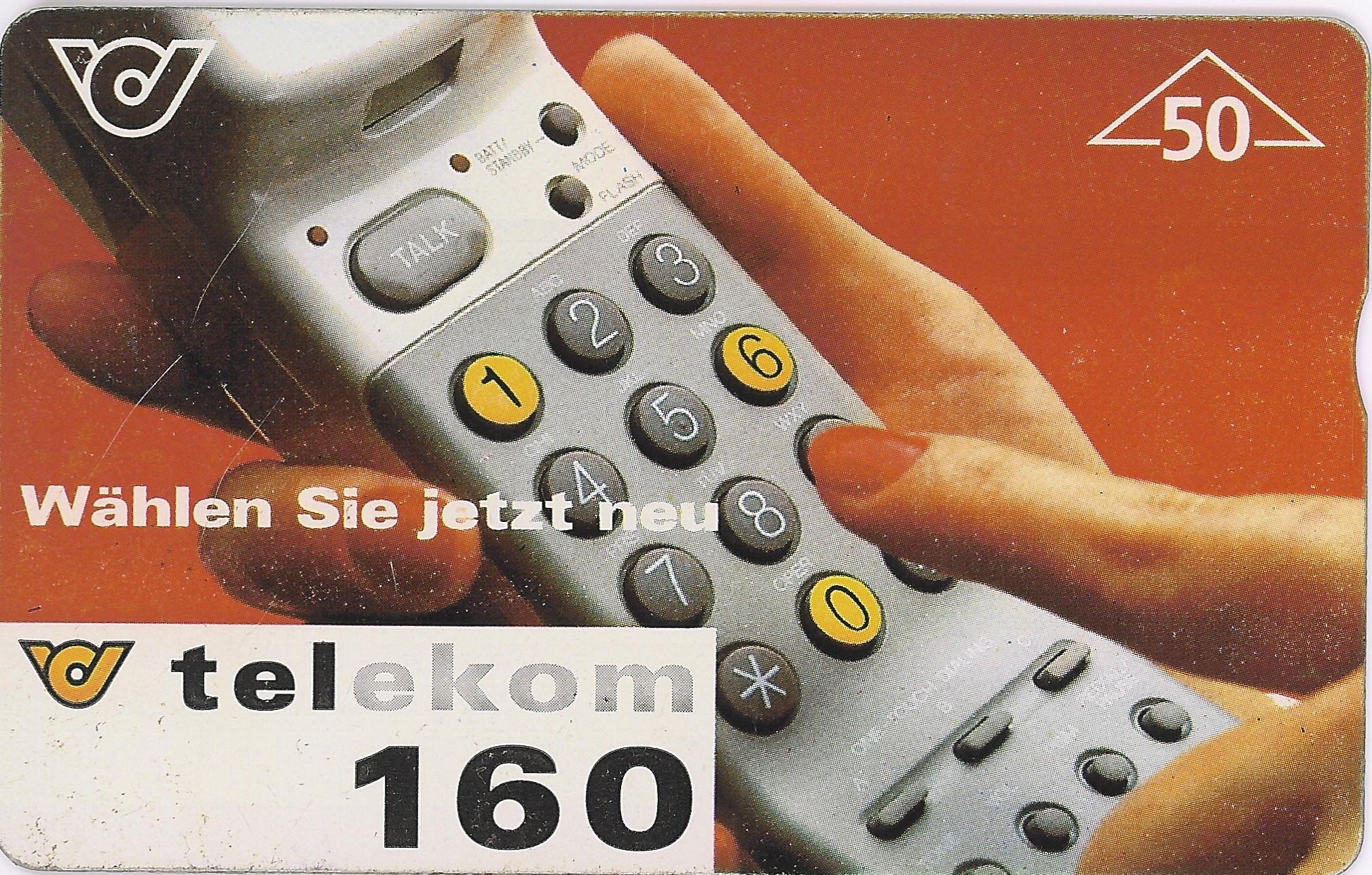 Tarjeta Telekom Austria 160