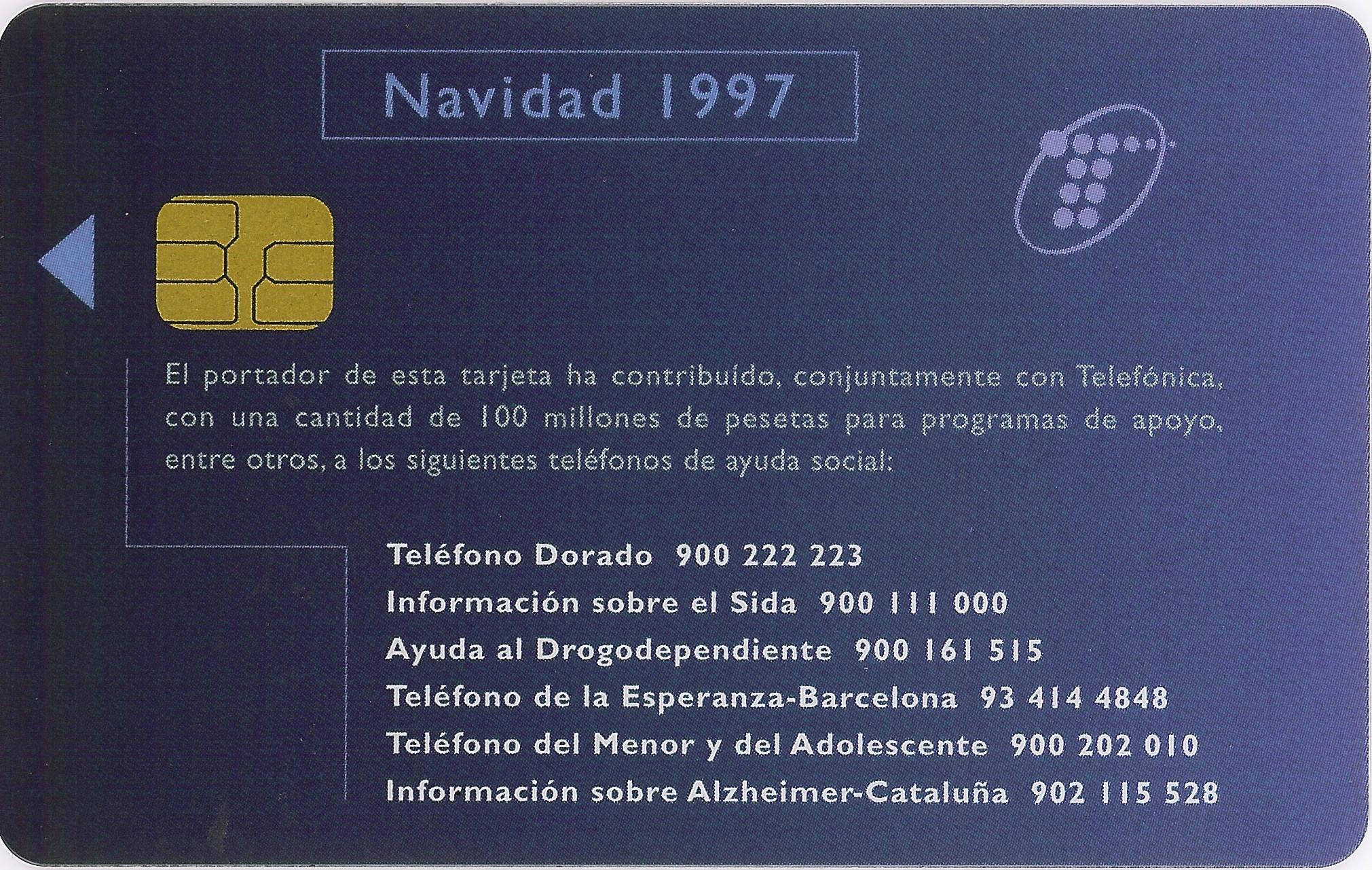Tarjeta Personal de Telefónica