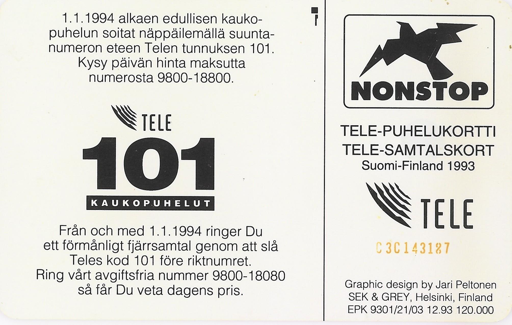 Tarjeta Tele Puhelukortti 50