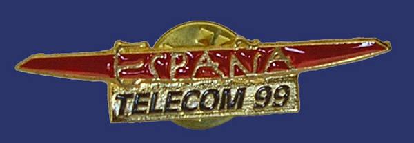 Pin de Telecom España 1999