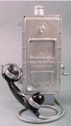 Teléfono antideflagrante.