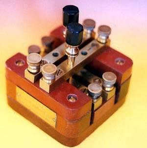 Conmutador telegráfico de barras cruzadas.
