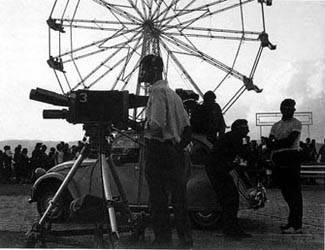 Primeras cámaras de televisión con objetivos rotativos (Foto J. M. García).