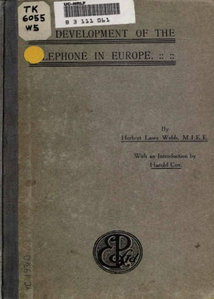 The development of the telephone in Europe