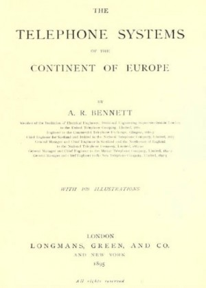 The telephone systems of the continent of Europe (1895)