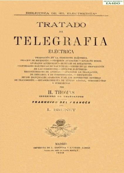 Tratado de Telegrafía Eléctrica