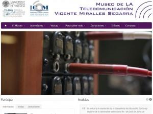 Museo de la Telecomunicación Vicente Miralles Segarra UPV (Valencia)
