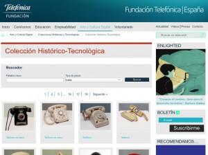 Colección Histórico-Tecnológica de la Fundación Telefónica (Virtual)