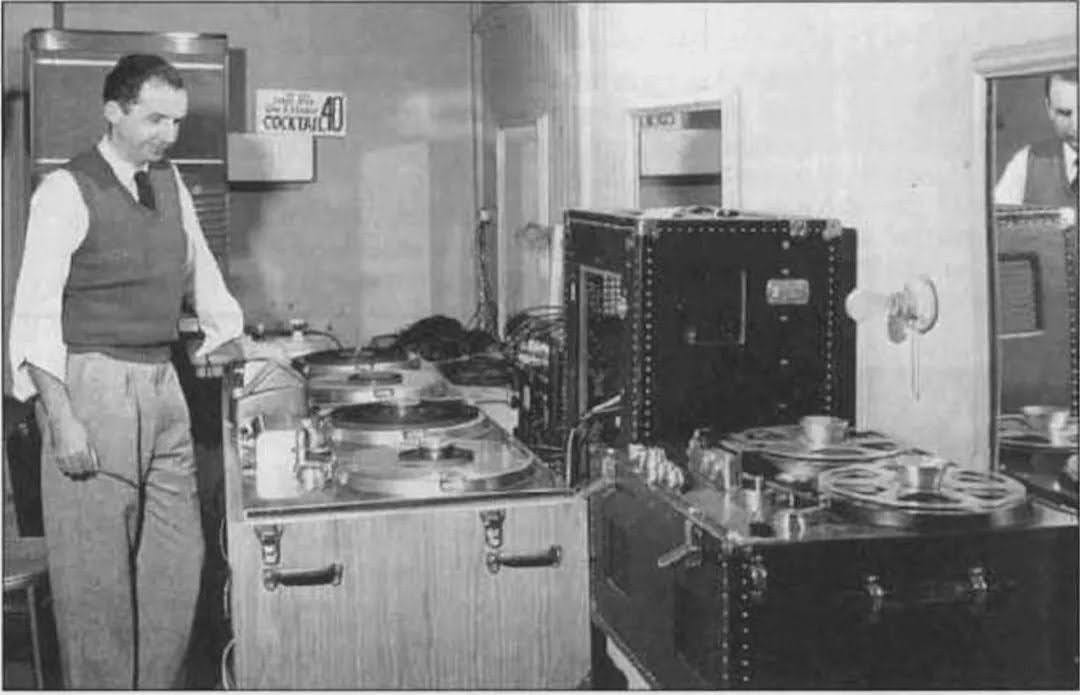 mr music ampex mullin